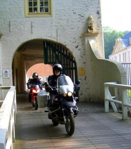 auf der Zugbrücke