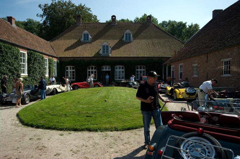 Klassisches Ambiente - die Burg Groothusen